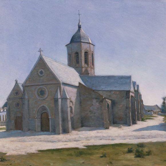 L'Église Saint-Michel, Étaples, 1885