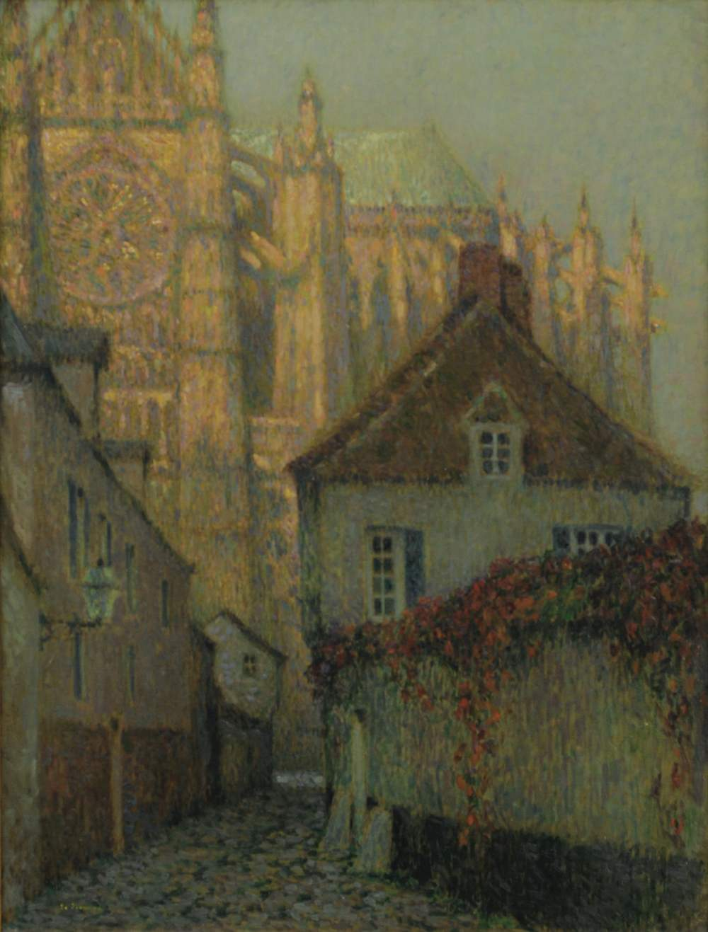 La Cathédrale au soleil couchant, Beauvais, 1900