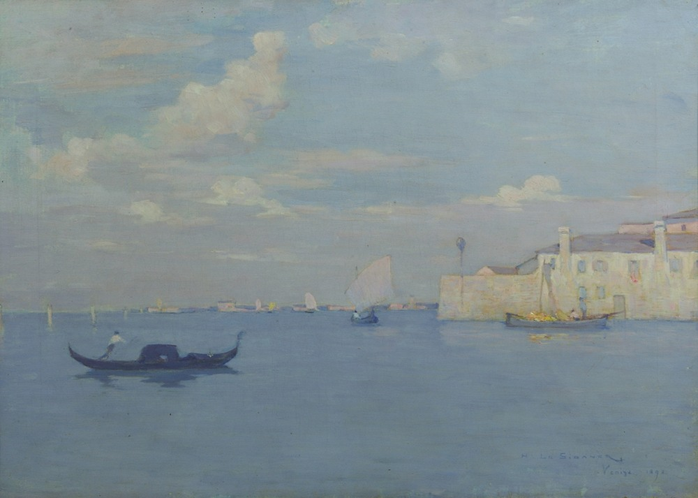 La Lagune, Venise, 1892