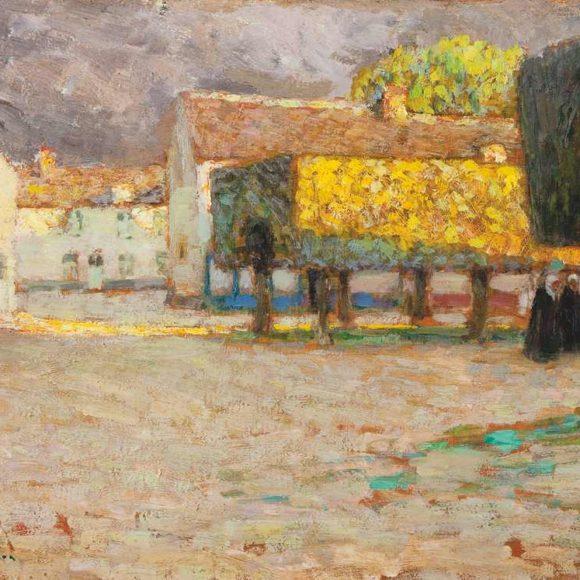La Route, Songeons, 1901