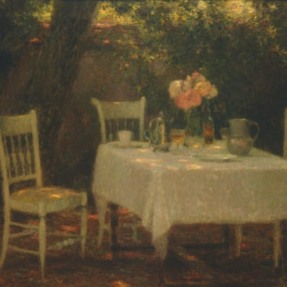 La Table au jardin, Gerberoy, 1902