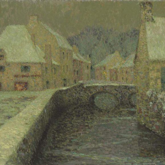 Le Pont, Pont-Aven, 1913