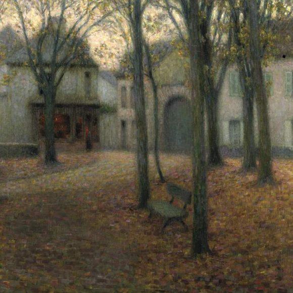 Petite place, automne, Chartres, 1902