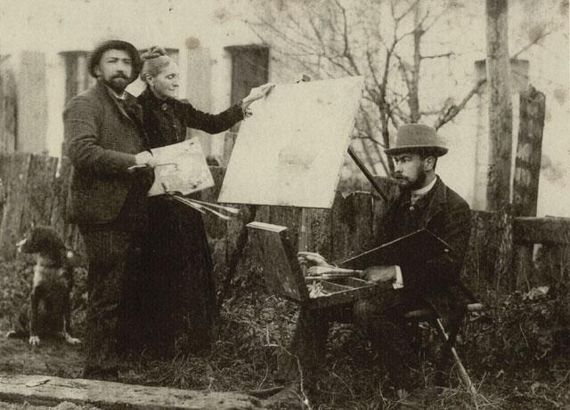 1887. Le Sidaner et Eugäne Chigot