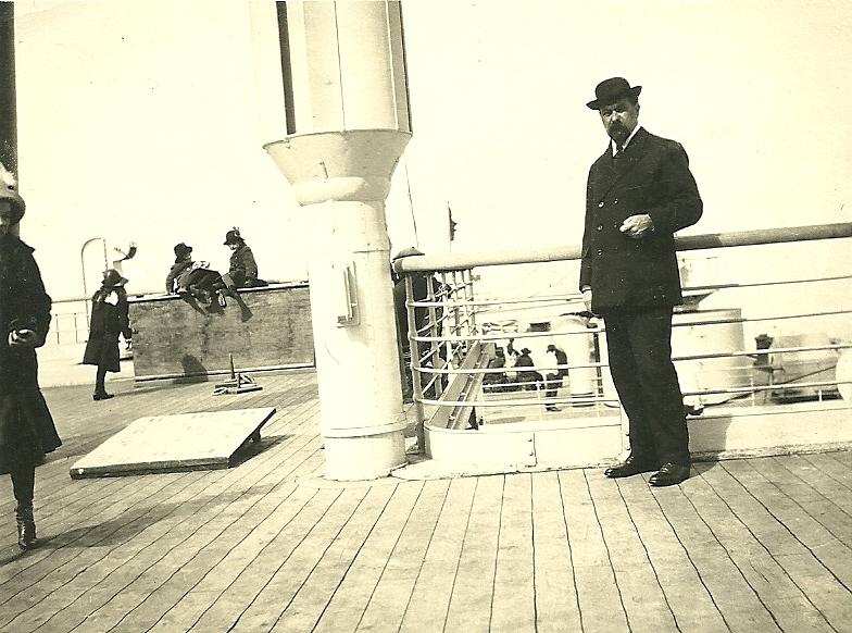 1910. Henri vers les U.S.A.