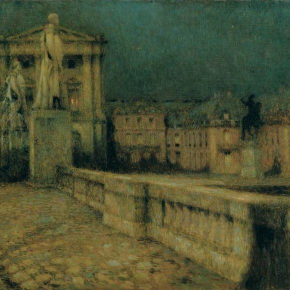 La Cour d'honneur, Versailles, 1912