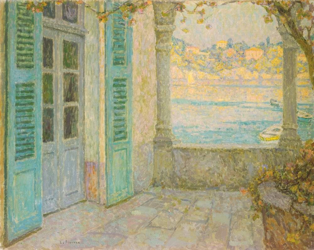 La Porte de la terrasse, Villefranche-sur-Mer, 1924