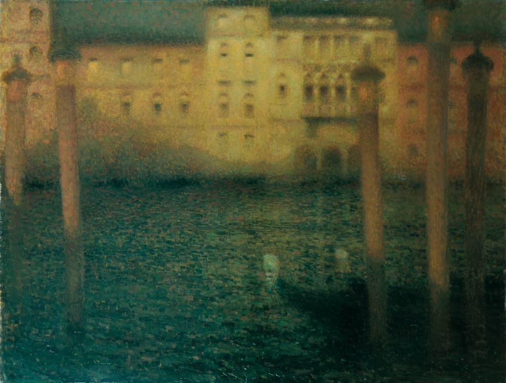 Le Grand Canal au clair de lune, Venise, 1906