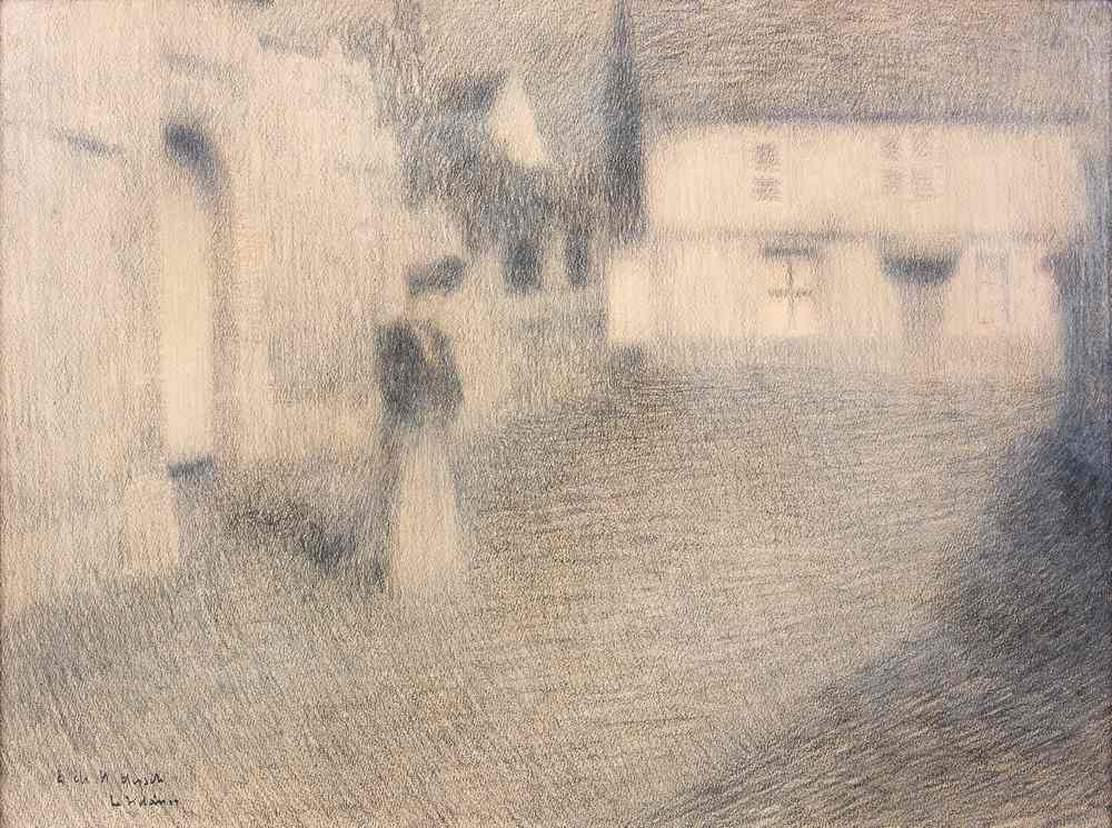 Le Portail, Gerberoy, 1904