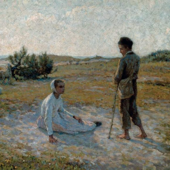 Sur les dunes, Étaples, 1888