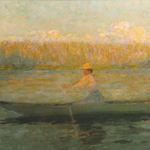 Crépuscule, Montreuil-Bellay, 1896