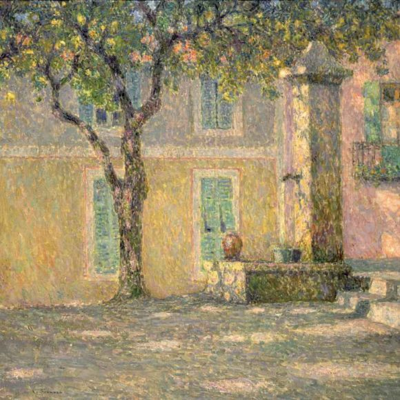 La Place aux oiseaux, Villefranche-sur-Mer, 1924