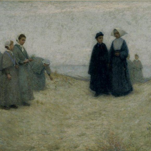 La Promenade des orphelines, Berck, 1888