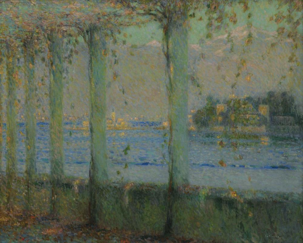 La Treille, Lac Majeur, 1909