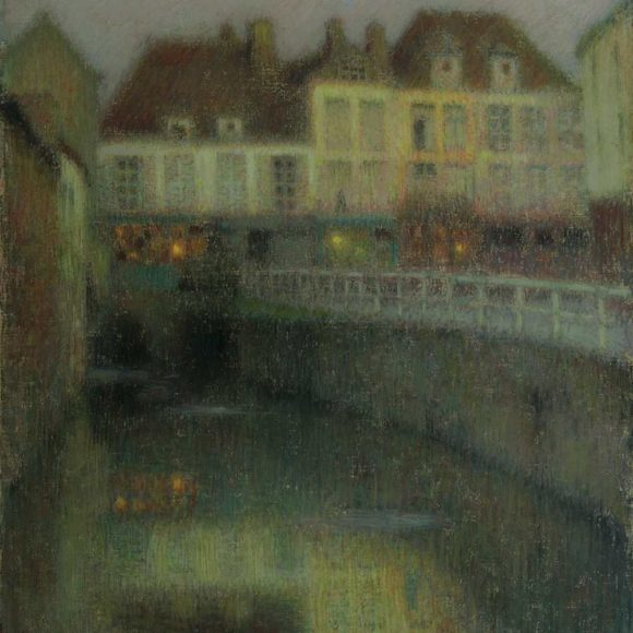 Le Canal, Amiens, 1901