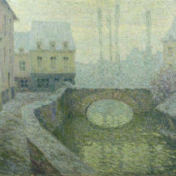 Neige, Guimgamp, 1918