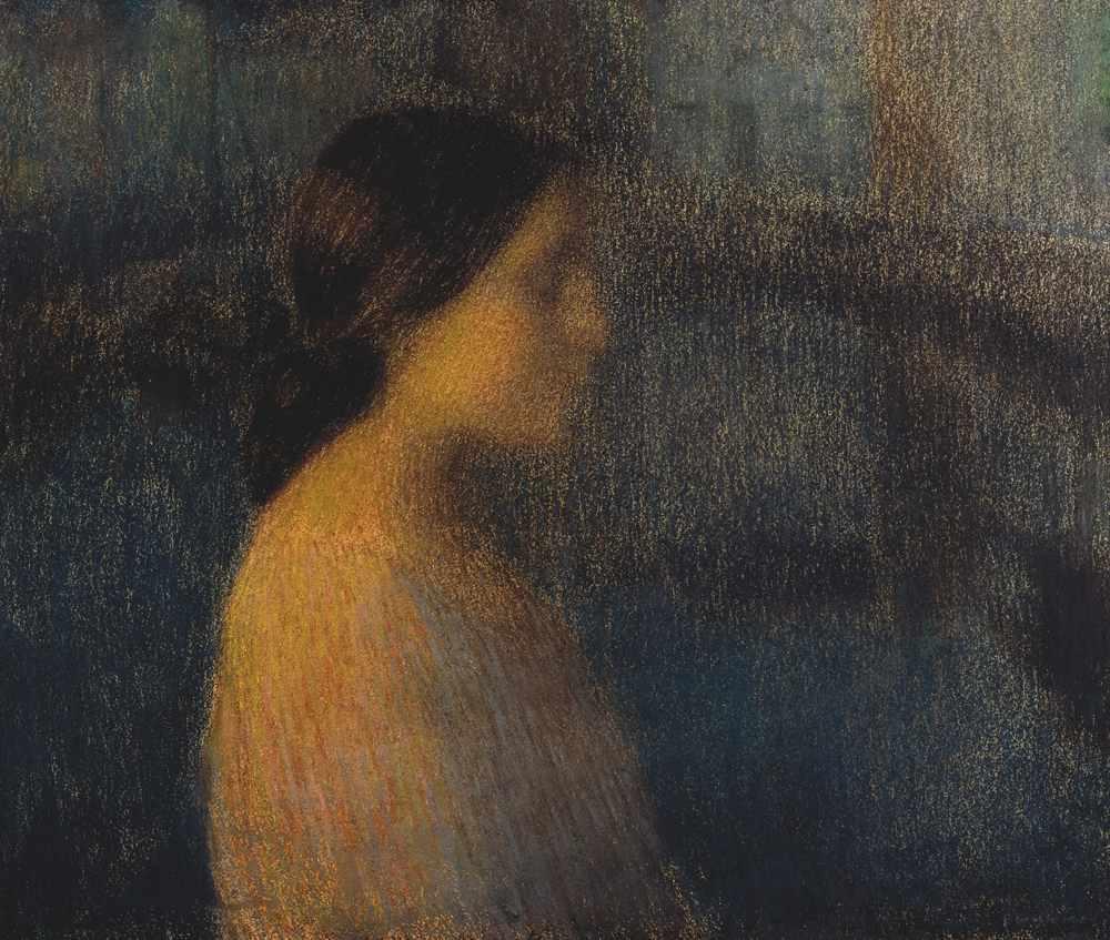Tête de femme, Bruges, 1899