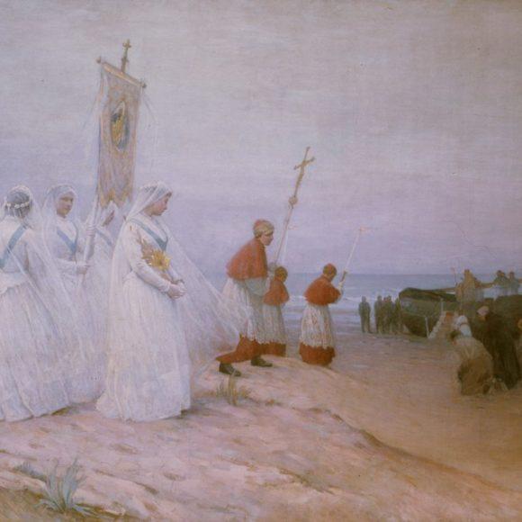 La Bénédiction de la mer, Étaples, 1891