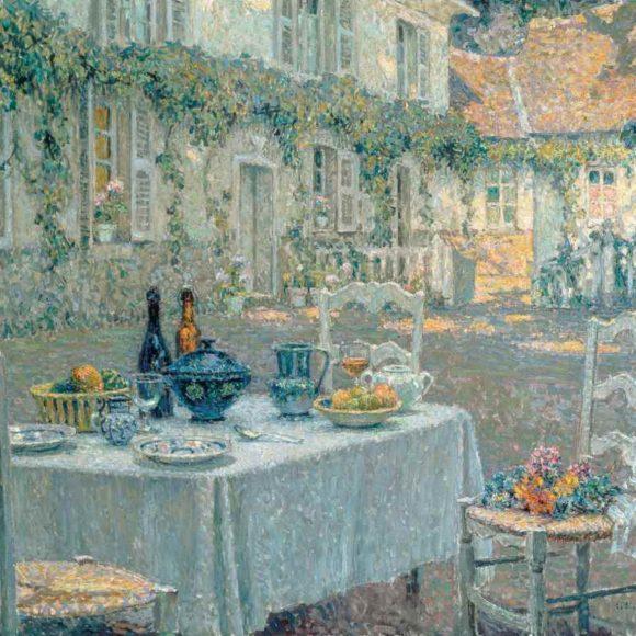 Le Déjeuner, Gerberoy, 1920