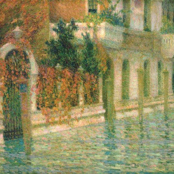 Le Palais blanc, Venise, 1907