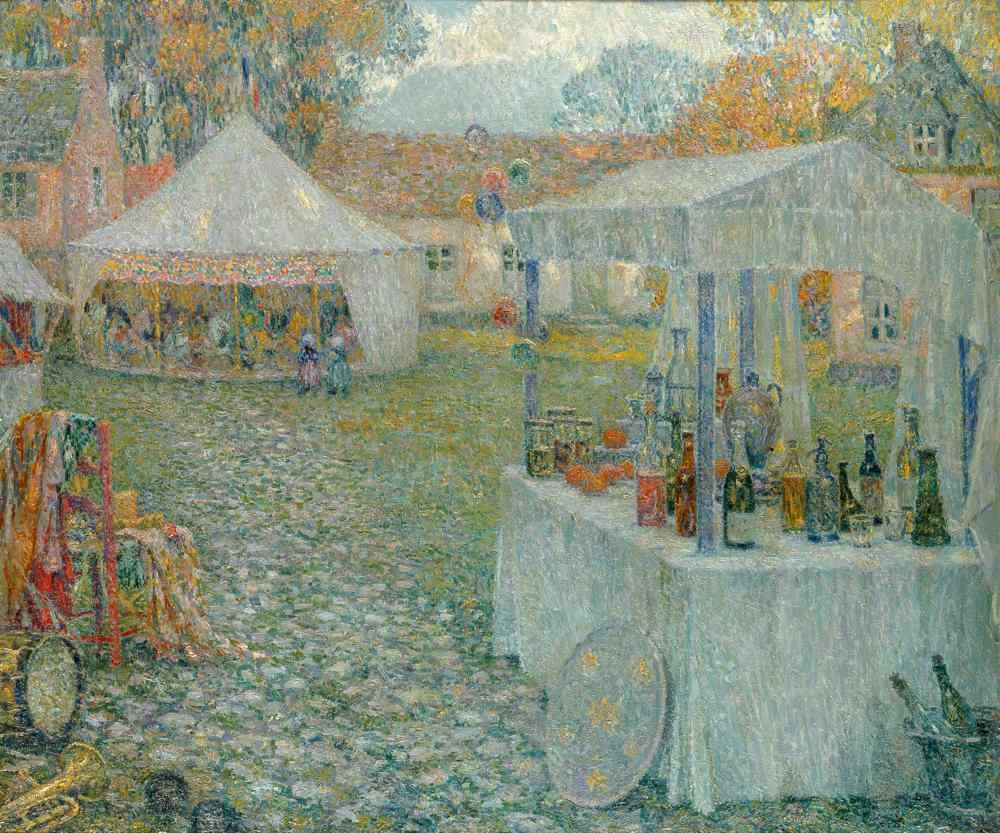 Les Baraques, Gerberoy, 1920