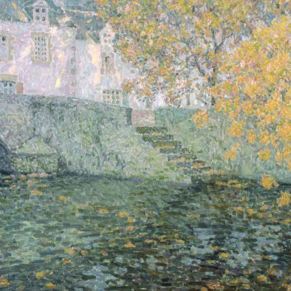 Automne doré, Quimperlé, 1923