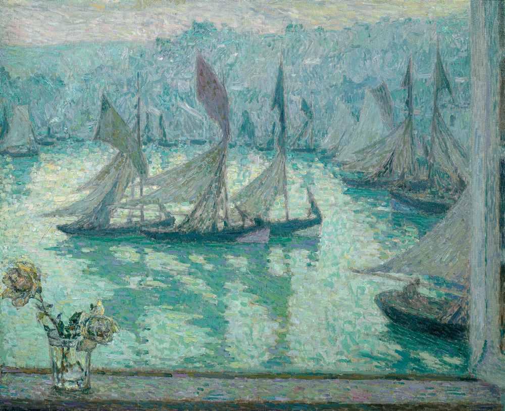 Fenêtre sur le port, Honfleur, 1922