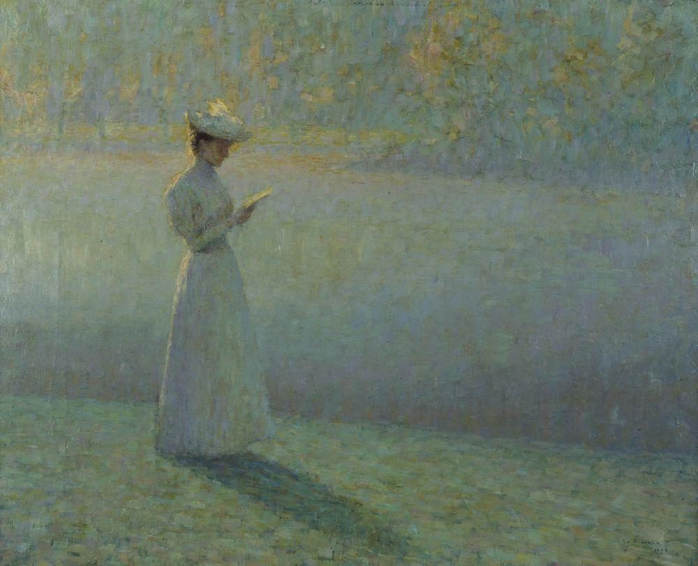 Jeune femme lisant, 1897