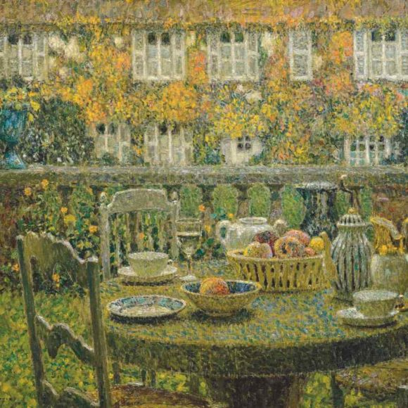 La Table d'automne, Gerberoy, 1924