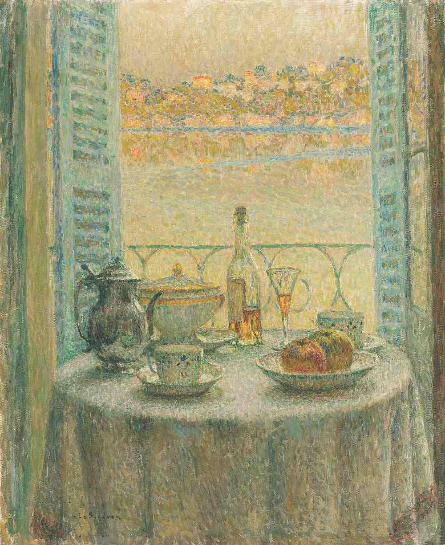 La Table ronde, Villefranche-sur-Mer, 1925