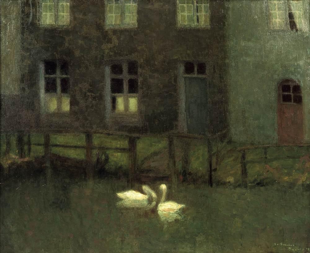 Les Cygnes, Bruges, 1900