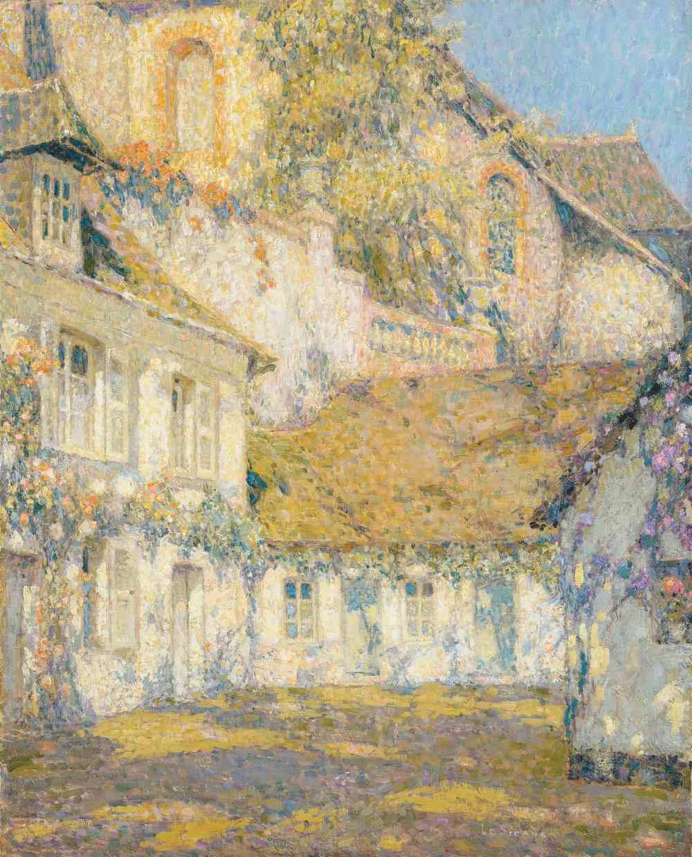 La Maison au soleil, Gerberoy, 1934
