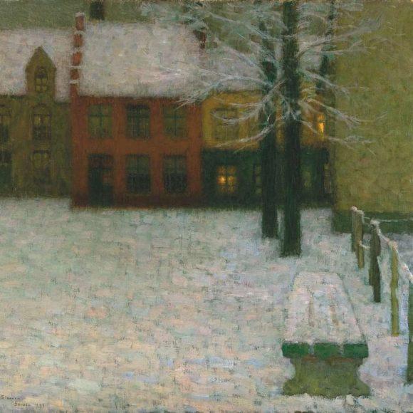 La Neige, Bruges, 1900