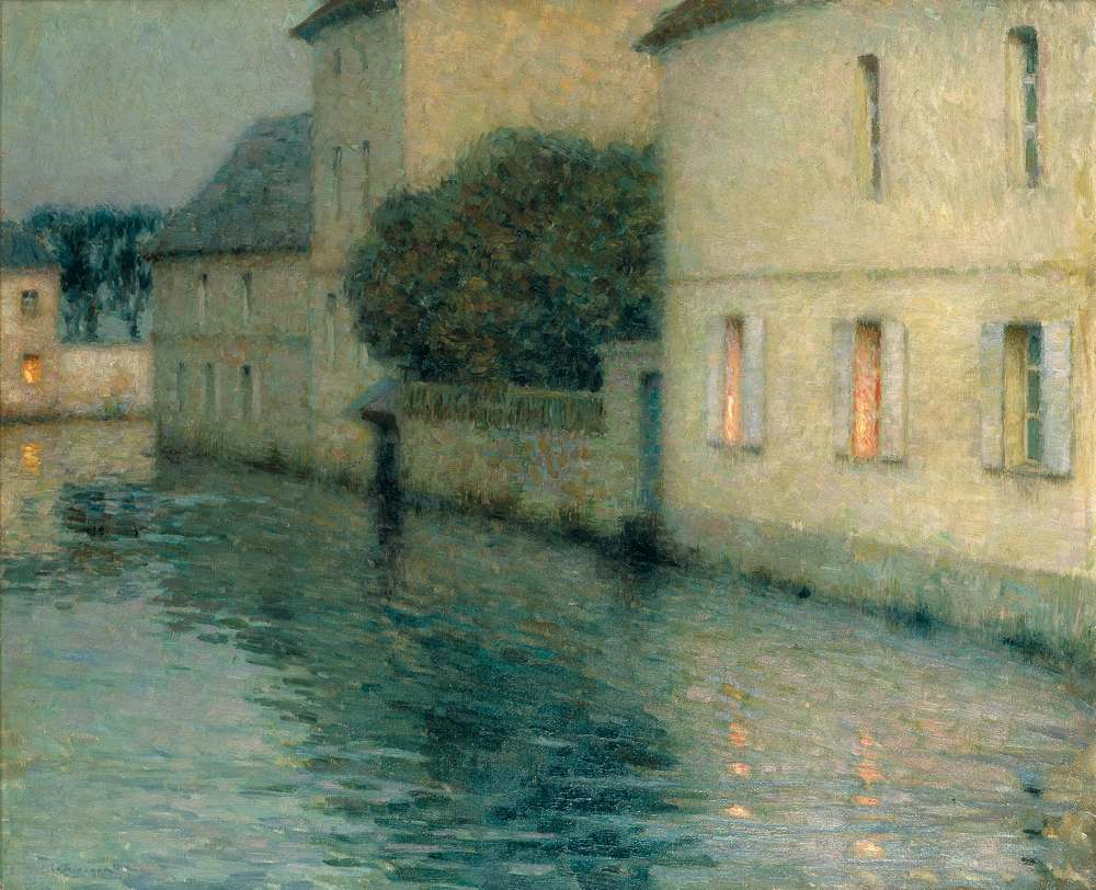 Le Canal, Mouy, 1904