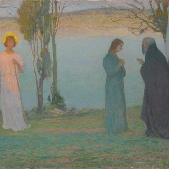 Le Départ de Tobie, Étaples, 1894