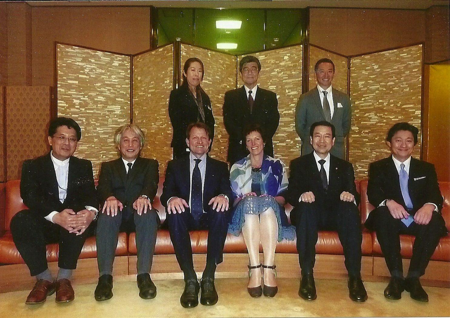 4. Tokyo (3. Sompo Staff with Mr. de Lorm)