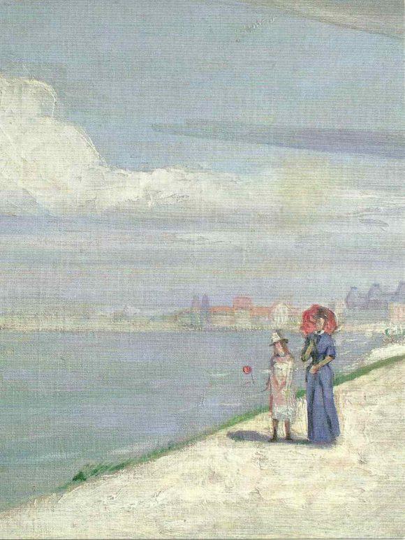 Henri Le Sidaner. Années de jeunesse