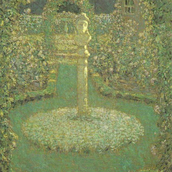 Henri Le SidanerEn Son Jardin De Gerberoy